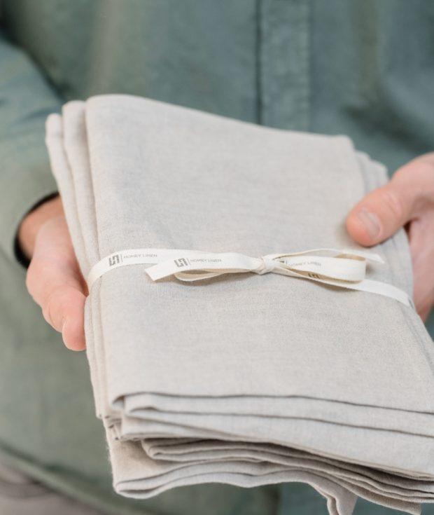 Natural Linen Towels