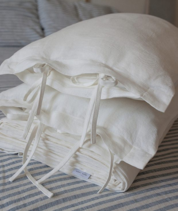 Linen Duvet Covers With Ties