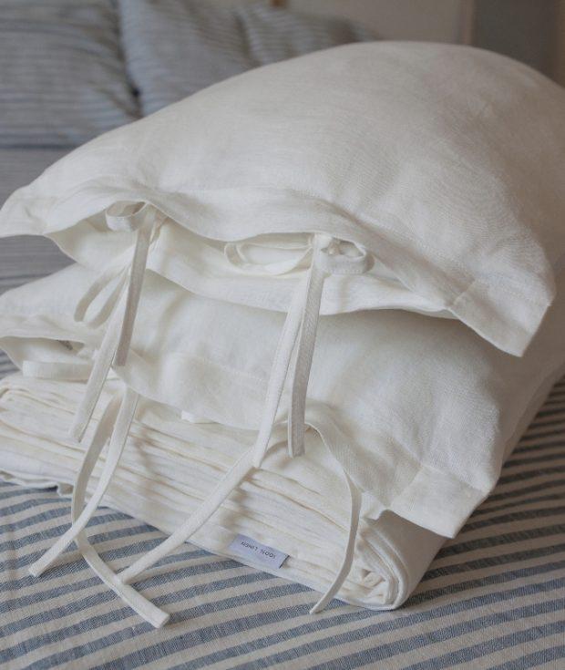 Linen Duvet Cover Ties
