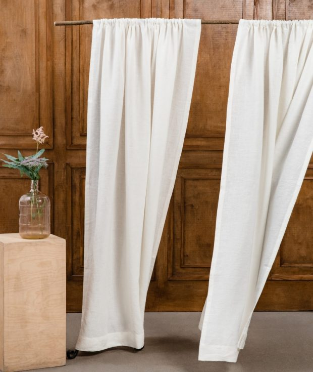 Washed Linen Curtains