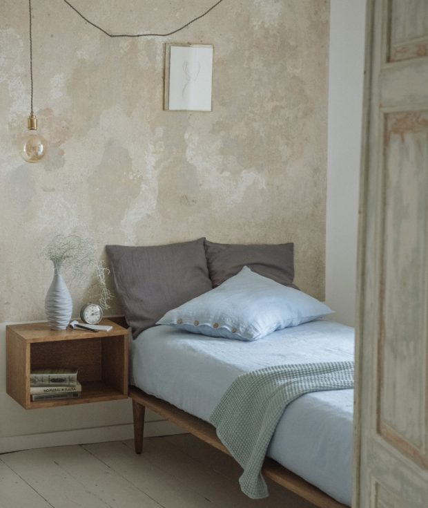Stone Washed Linen Bedding