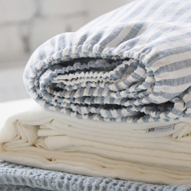 sitas Linen Bed Sheet