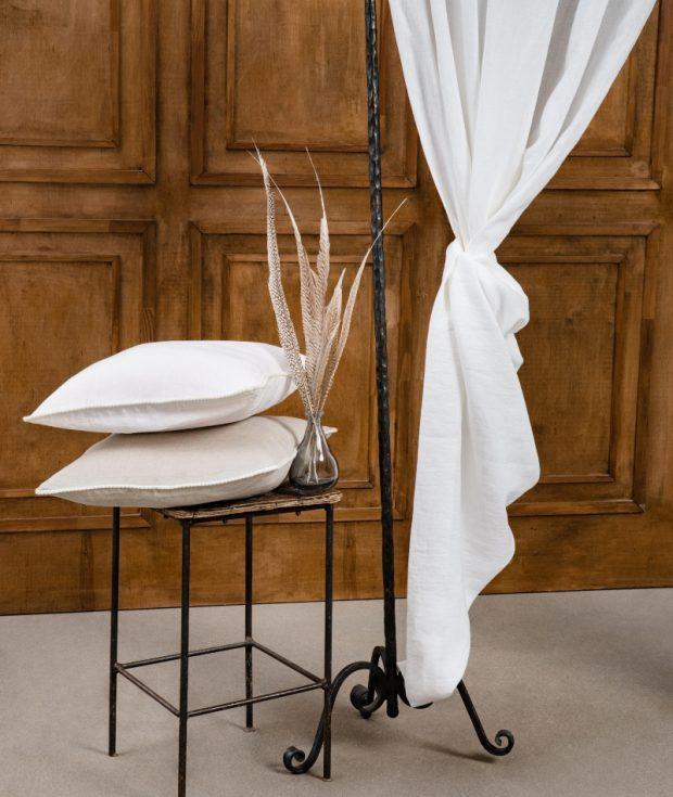 Decorative Linen Pillow Cover