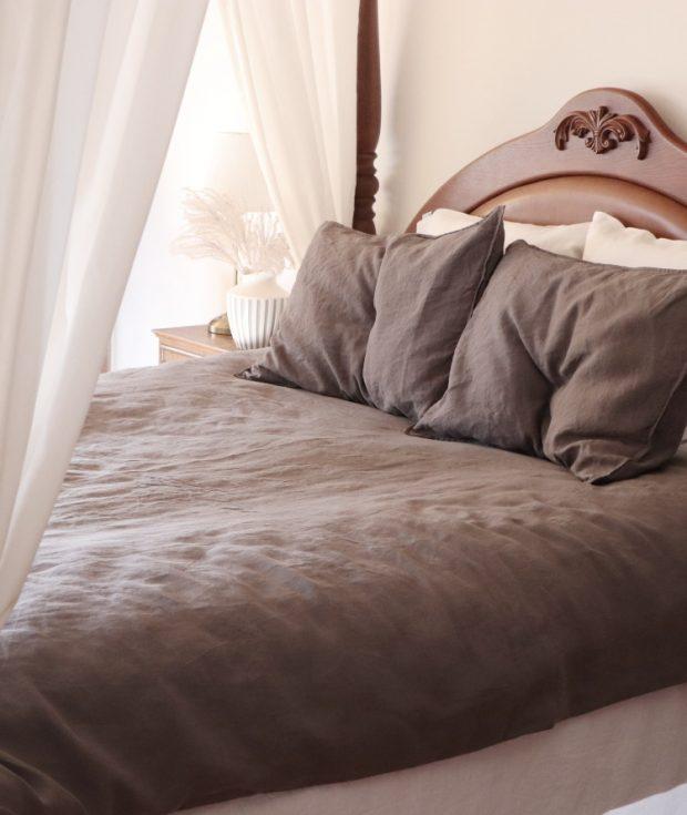 Gray Pillowcase