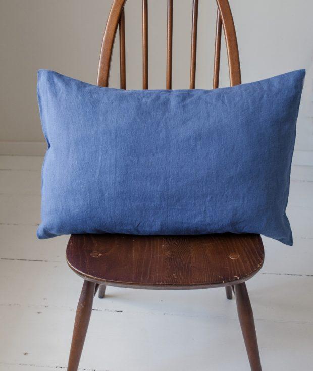 Blue Pillowcase