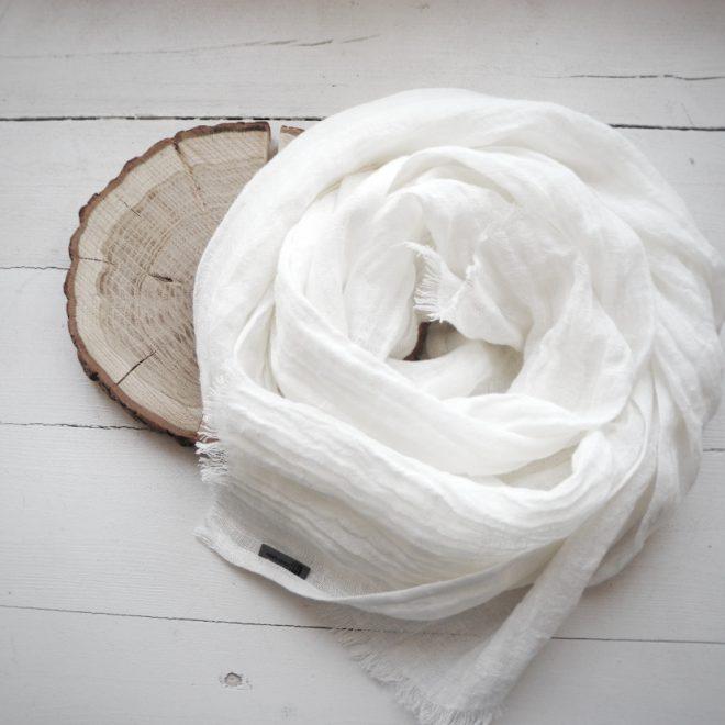 sitas White Scarves