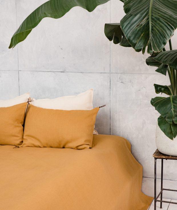 European Linen Bedspread
