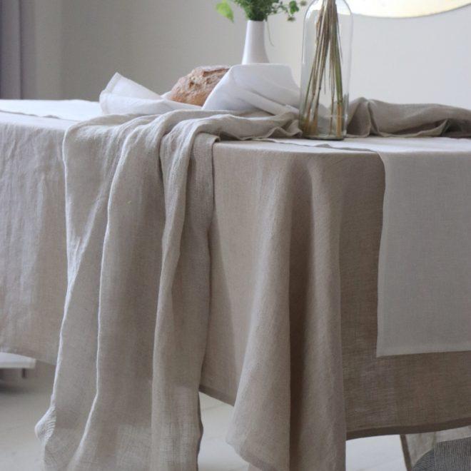 sitas Natural Table Cloth