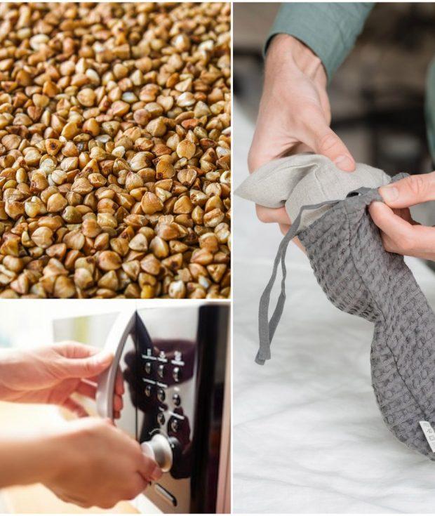 Microwavable Buckwheat Bag