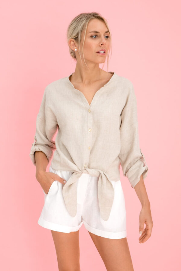 Oversized Linen Shirts