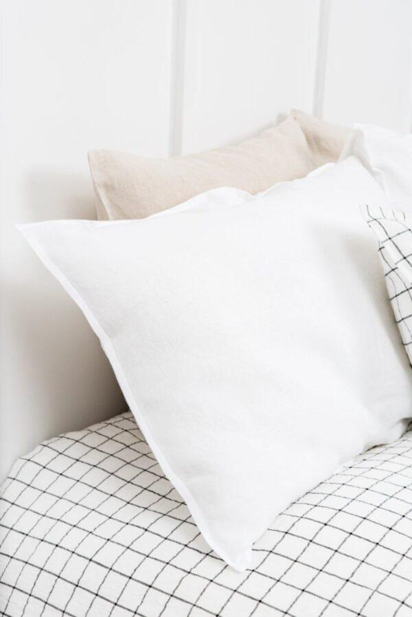White Pillowcase