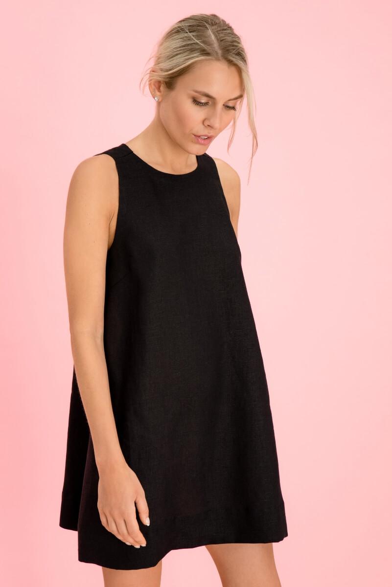 Mini Linen Dress