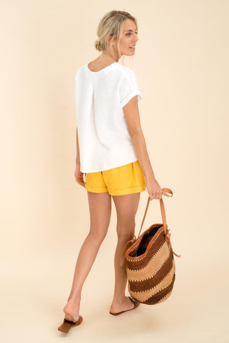 Soft Linen Top