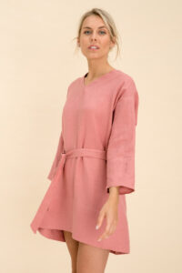 Maternity Short Linen Dress