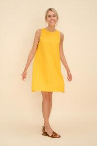 Maternity Pure Linen Dress