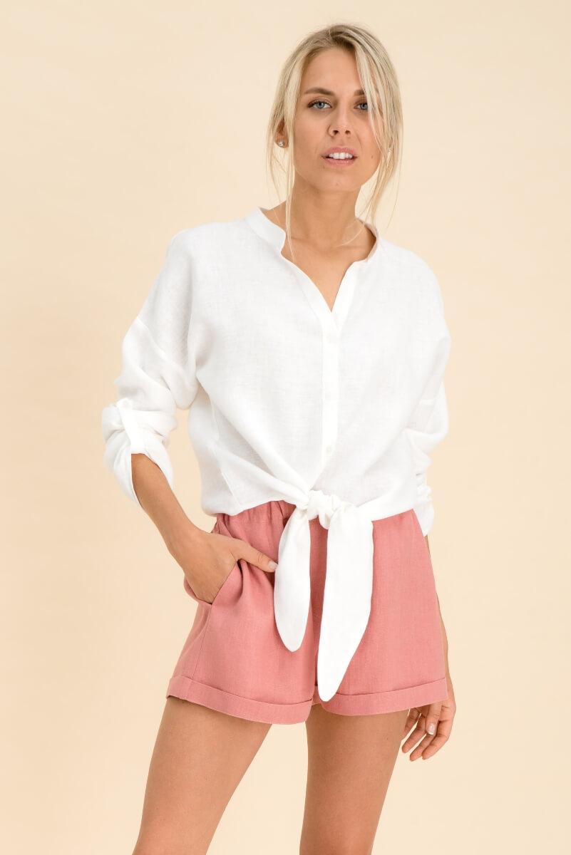 Oversizes Linen Shirt