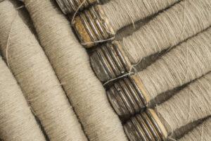 linen yarn bobbins